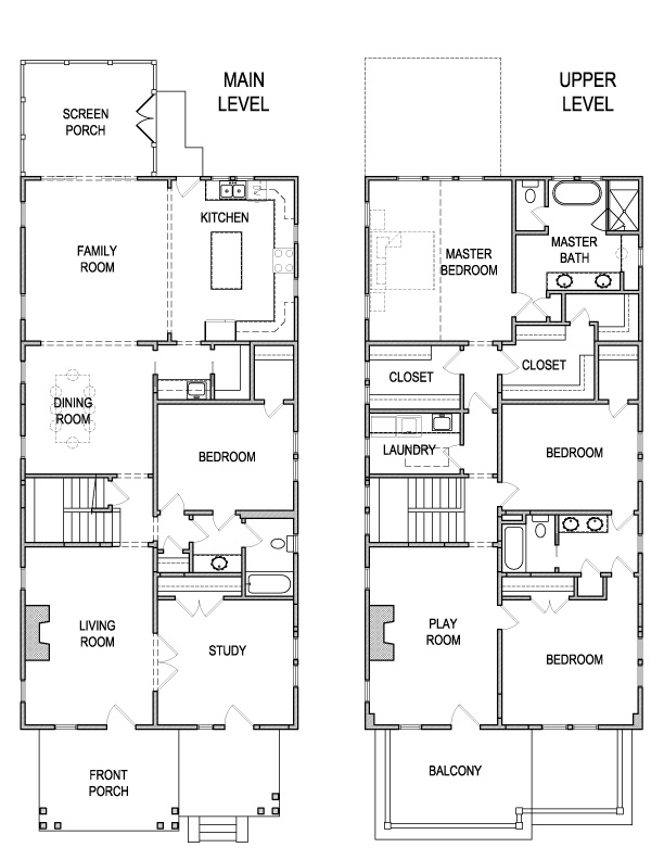 Small Colonial Revival House Plans